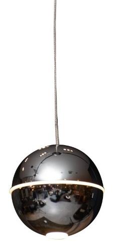 Závěsná lampa Zen 1 chrom P0313 Max Light