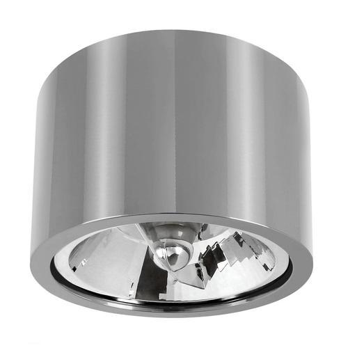 Chloe Ar111 Metalica Ip20 kulatý stříbrný pevný chrom