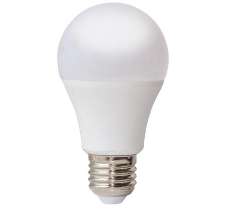 LED 10W E27 A60 žárovka. Barva: studená