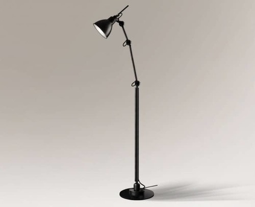 Loftová designová stojací lampa Shilo Daisen 2280