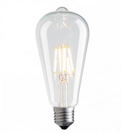 Dekorativní LED žárovka Vintage Amber 3000K 1055lm 7,5W žárovka