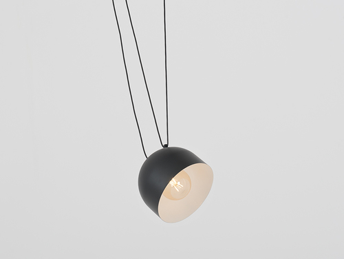 Závěsná lampa POPO L 1 - černá