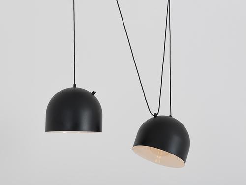 Závěsná lampa POPO L 2 - černá