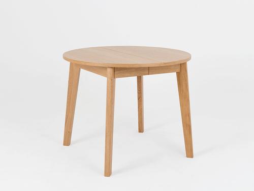 WOODYOU ROUND 95 jídelní stůl - masivní dub
