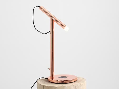 Nabíjecí stolní lampa DIZO LED - měď