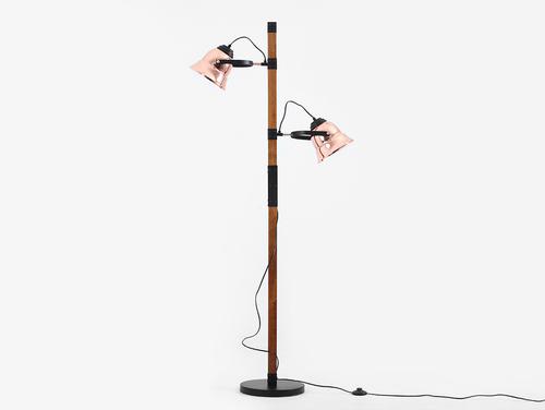 Stojací lampa SHERLOCK FLOOR - měď