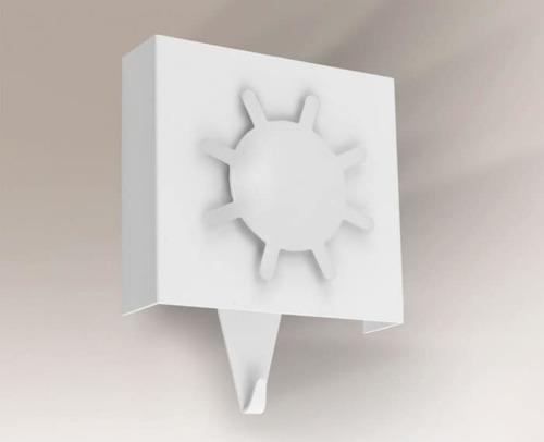 Nástěnná lampa s háčkem SHILO Kakuda 4484/01