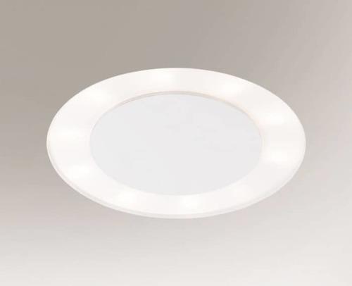 Zapuštěné svítidlo BANDO 3322-B Shilo 14xE27 9W kulaté bílé