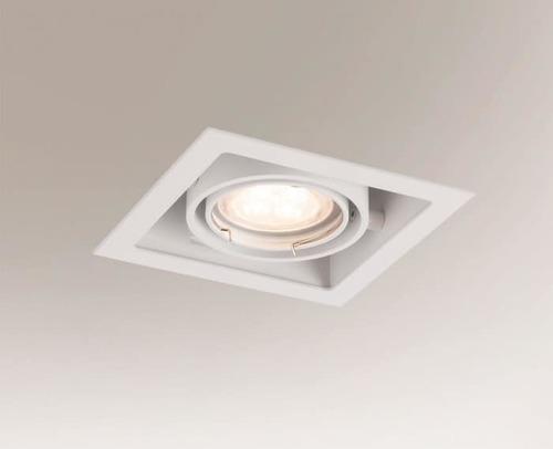 Halogenová zapuštěná žárovka EBINO 3304 Shilo GU5.3 1xMR16 50W čtvereční