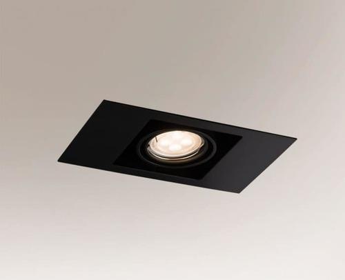 EBINO 3305 Shilo GU5.3 1xMR16 50W stropní bodové světlo obdélníkové
