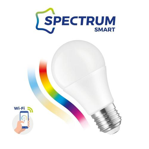 Led Gls 9w E-27 230V Rgbw + Cct + Dim Wi-Fi Spectrum Smart