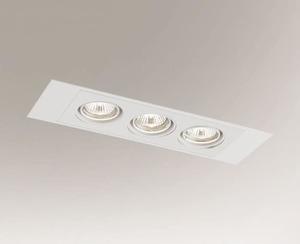 Stropní zapuštěná lampa EBINO H 3348 Shilo GU5.3 3xMR16 50W small 0