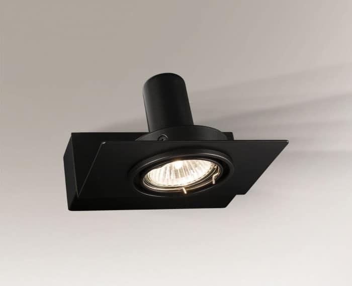 Moderní technická nástěnná lampa Shilo SAPPORO 4407