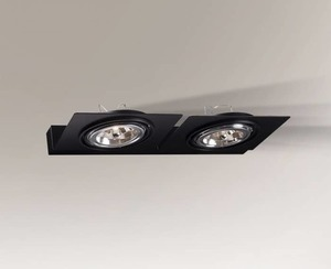Dvojitá technická nástěnná lampa Shilo SAPPORO 4436 small 0