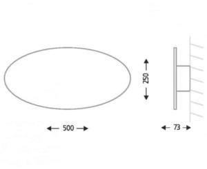 Nástěnná lampa oválná Shilo SUZU 4471 small 1