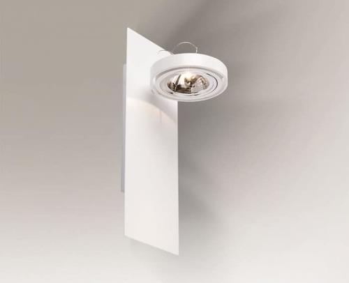 Nástěnná lampa oválná Shilo SUZU 4472