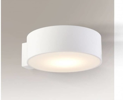 Kulatá nástěnná lampa Shilo Zama 4447