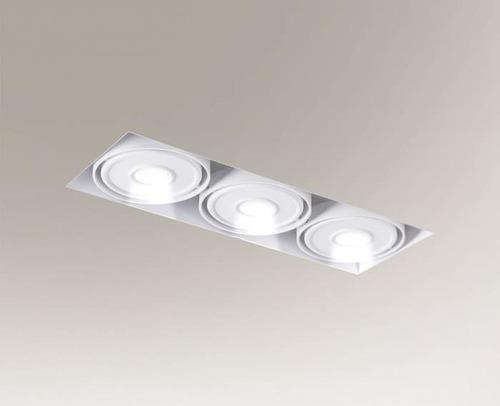 Zapuštěné LED světlo KOMORO IL 3354 3x10W 2550lm