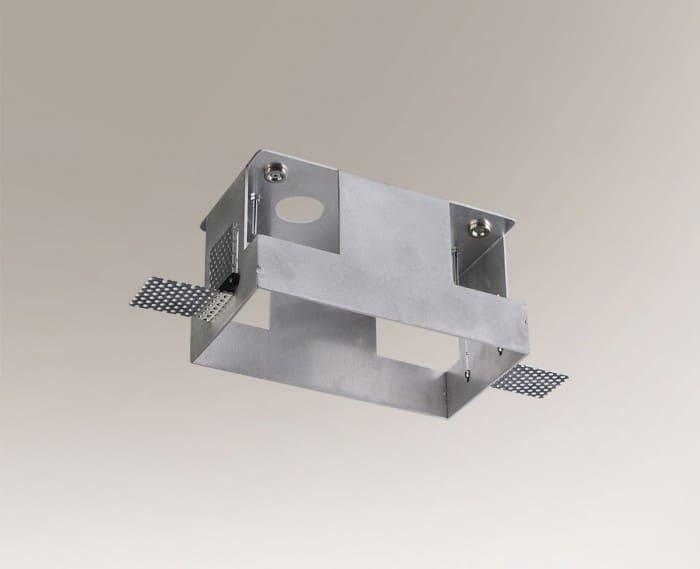 Montážní krabice OMURA 3337 pro hliníkové dvoubodové svítidlo