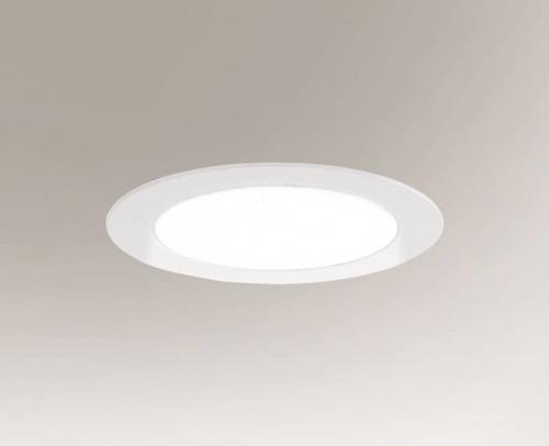 LED zapuštěná lampa TOTTORI IL 3366 10W 850 lm kulatá