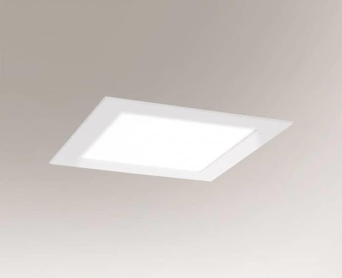 LED zapuštěná lampa TOTTORI IL 3367 10W 850lm square