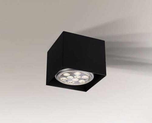 YATOMI 1210 GU10 15W čtvercová stropní lampa