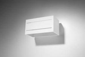 Bílá Nástěnná lampa LOBO MAXI 2 bílá SL.0531 small 1