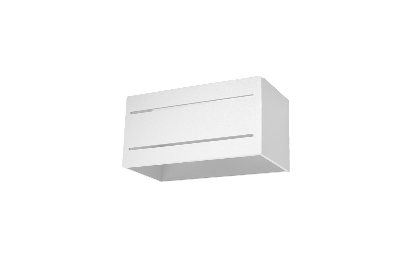 Bílá Nástěnná lampa LOBO MAXI 2 bílá SL.0531