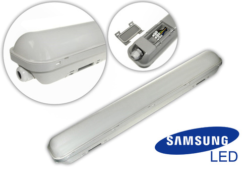 Hermetické LED Volter 40W 120cm 4000K