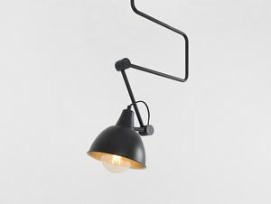 COBEN závěsná lampa - černá small 3