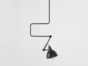 COBEN závěsná lampa - černá small 0