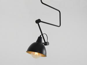 Závěsná lampa COBEN LONG - černá small 3