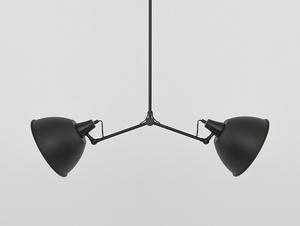 COBEN TWO HEAD závěsná lampa - černá small 3