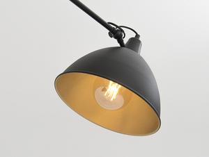 COBEN TWO HEAD závěsná lampa - černá small 4