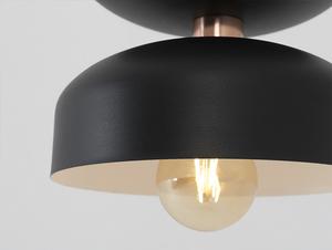 Závěsná lampa WOMAN S - černá small 4