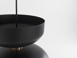 Závěsná lampa WOMAN M - černá small 4