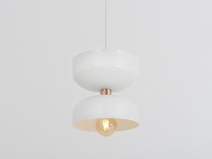 Závěsná lampa WOMAN L - bílá small 3
