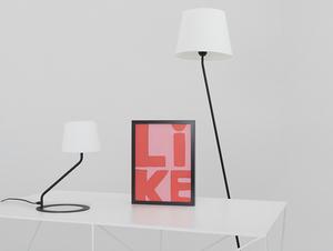Stojací lampa SHADE FLOOR - bílý, černý odstín small 1