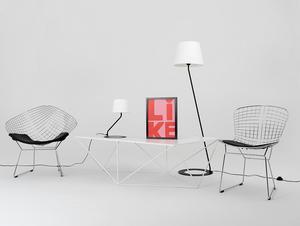 Stojací lampa SHADE FLOOR - bílý, černý odstín small 2