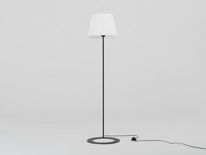 Stojací lampa SHADE FLOOR - bílý, černý odstín small 3