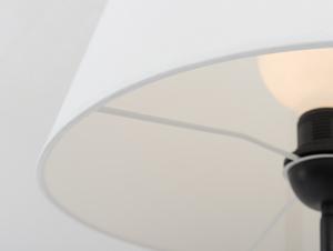 Stojací lampa SHADE FLOOR - bílý, černý odstín small 4
