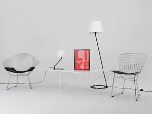 Stolní lampa SHADE TABLE - bílý, černý odstín small 2