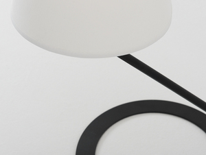 Stolní lampa SHADE TABLE - bílý, černý odstín small 4