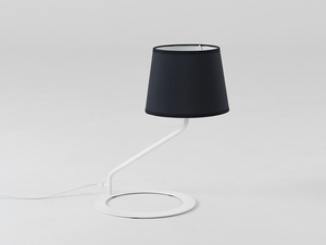 Stolní lampa SHADE TABLE - bílý, černý odstín small 0