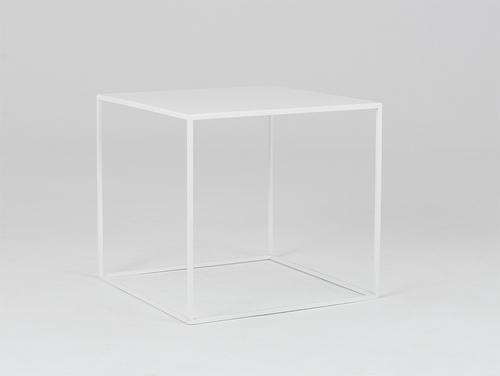 Konferenční stolek TENSIO METAL 50 - bílý