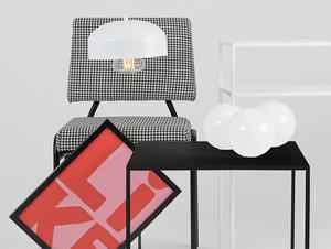 Konferenční stolek TENSIO METAL 50 - černý small 1