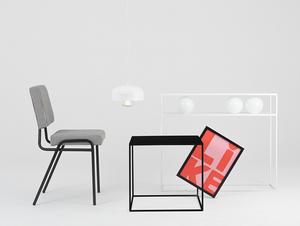 Konferenční stolek TENSIO METAL 50 - černý small 2