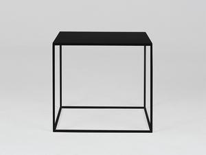 Konferenční stolek TENSIO METAL 50 - černý small 3