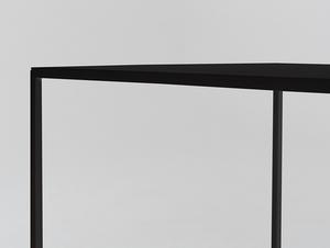 Konferenční stolek TENSIO METAL 50 - černý small 4