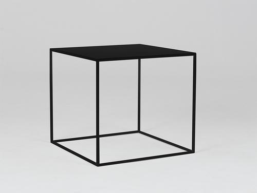 Konferenční stolek TENSIO METAL 50 - černý